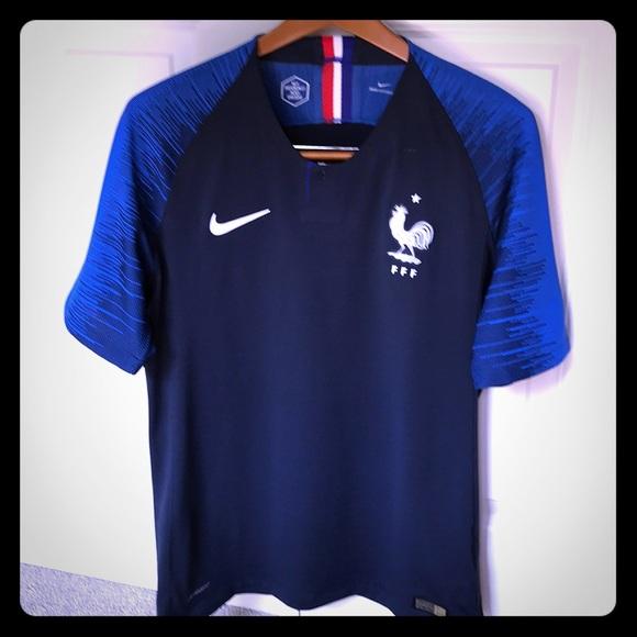 finest selection d26a0 c4dcf France Men's Nike 2018 Authentic Jersey